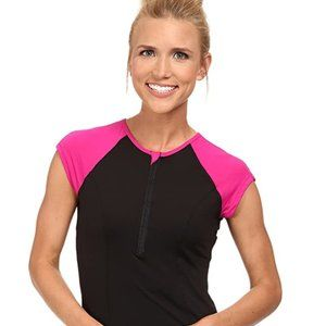 SPANX Active Shirt NWOT capped Small